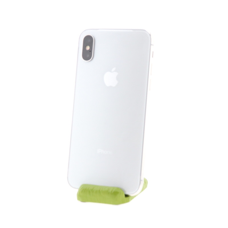 【極美品】iPhone X(256GB/シルバー)