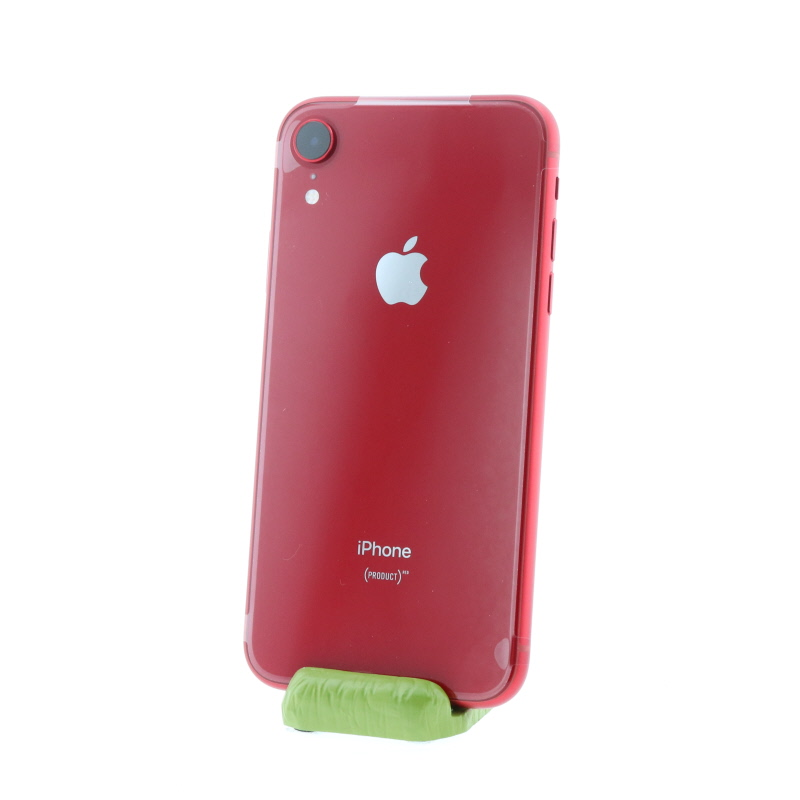 【極美品】iPhone XR(64GB/レッド)