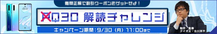 Q30解読チャレンジ